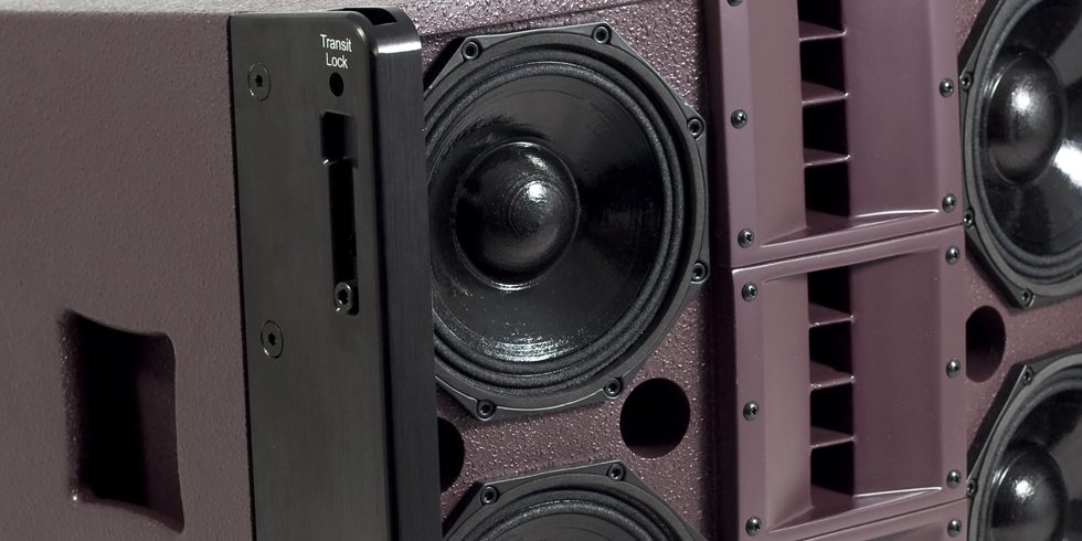 Arcline 6 - these 800W RMS mid/tops cabs provide a huge 120° wide throw
